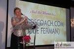 Julie Ferman (Cupid's Coach) Winner of Best Matchmaker at the 2010 Internet Dating Industry Awards Ceremony in Miami