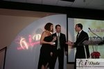 Match.com receiving Best Dating Site Award at the 2010 iDate Awards Ceremony