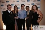Match.com Executives with 2 Awards (Best Dating Site and Best Dating Site Design) at the January 28, 2010 Internet Dating Industry Awards in Miami