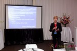 Ann Robbins (CEO of eDateAbility) at the June 22-24, 2011 Dating Industry Conference in Los Angeles