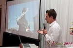 Chas McFeely (CEO of HookChasUp.com) at the June 22-24, 2011 Dating Industry Conference in Los Angeles