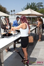 Lunch at the June 22-24, 2011 Los Angeles Online and Mobile Dating Industry Conference