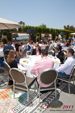 Mobile Dating Executives Meet for the iDate Lunch at the 2011 Los Angeles Internet Dating Summit and Convention