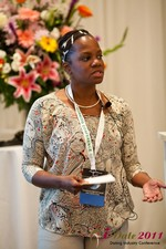 Robinne Burrell (Vice President at Match.com) at the June 22-24, 2011 Los Angeles Online and Mobile Dating Industry Conference