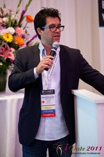 Tai Lopez (CEO of DatingHype.com) at the June 22-24, 2011 Dating Industry Conference in Los Angeles