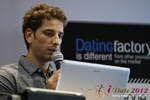 David Khalil (Co-Founder of eDarling) at the September 10-11, 2012 Cologne European Union Internet and Mobile Dating Industry Conference