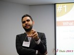 Marco Tulio Kehdi COO of Raccoon Marketing Digital speaking on Brazil Search  at the 36th iDate2013 Brasil