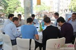 Lunch at the 2013 European Internet Dating Industry Conference in Germany