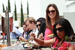 Lunch at the June 5-7, 2013 California Internet and Mobile Dating Industry Conference