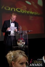 Dan Winchester reading on behalf of ChristianConnection.co.uk, winner of Best Niche Dating Site at the 2013 Internet Dating Industry Awards in Las Vegas