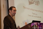 Mike Gregory (CEO of Wooyah) at the CEO Therapy session at Las Vegas iDate2013