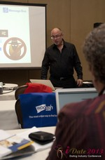 Neil Schwartzman (President at Message Bus) at the January 16-19, 2013 Internet Dating Super Conference in Las Vegas