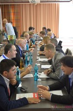 Speed Networking Among Dating Industry Executives  at the September 7-9, 2014 Mobile and Internet Dating Industry Conference in Köln