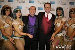 Marc Lesnick & Mark Brooks (iDate Awards Thanks You!) in Las Vegas at the January 15, 2014 Internet Dating Industry Awards