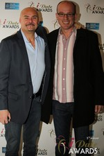 Sean Kelley & Benoit Le Chevallier  at the 2014 iDate Awards