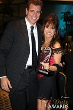 Renee Piane (Winner of Best Dating Coach) in Las Vegas at the January 15, 2014 Internet Dating Industry Awards