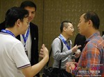 Business Networking  among C-Level Dating Industry Executives at the 2015 Beijing China & Asia Mobile and Internet Dating Expo and Convention