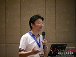 Dr. Song Li - CEO of Zhenai at the 2015 China & Asia Online Dating Industry Conference in Beijing