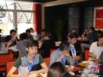 Lunch at the 2015 China & Asia Online Dating Industry Conference in Beijing