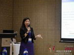 Violet Lim - CEO of Lunch Actually at the 2015 Beijing China & Asia Mobile and Internet Dating Expo and Convention