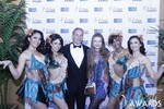 Ken Agee and Svetlana Mucha at the January 15, 2015 Internet Dating Industry Awards Ceremony in Las Vegas
