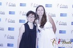 Irena Stepanova and Elena Kolyasnikova in Las Vegas at the 2015 Online Dating Industry Awards