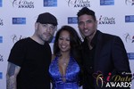 Sean Christian, Carmelia Ray and Doron Kim in Las Vegas at the 2015 Online Dating Industry Awards