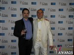 Arthur Malov and Marc Lesnick at the 2015 Las Vegas iDate Awards