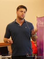 Ben Lambert CEO Clocked Io Speaking At CEO Therapy at the Euro and U.K. iDate conference and expo for matchmakers and online dating professionals in 2015