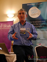 Dave Wiseman Vice President Of Sales And Marketing Speaking To The European Dating Market On Scam Detection Technology at the Euro iDate conference and expo for matchmakers and online dating professionals in 2015