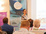 Gloria Diez Business Development From Wamba Speaking at the Euro and U.K. iDate conference and expo for matchmakers and online dating professionals in 2015