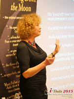 Mary Balfour CEO And Managing Director Of Drawing Down The Moon  at the October 14-16, 2015 Mobile and Online Dating Industry Conference in London