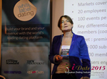 Pauline Tourneur General Manager Of Attractive World Speaking On The French Online And Mobile Dating Market  at the 12th Annual Euro iDate Mobile Dating Business Executive Convention and Trade Show