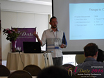 Kenny Hyder (VP of Equate Media)  at the 38th Mobile Dating Indústria Conference in Califórnia