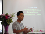 Monty Suwannukul (Product designer at Grindr)  at the 38th Mobile Dating Negócio Conference in Los Angeles