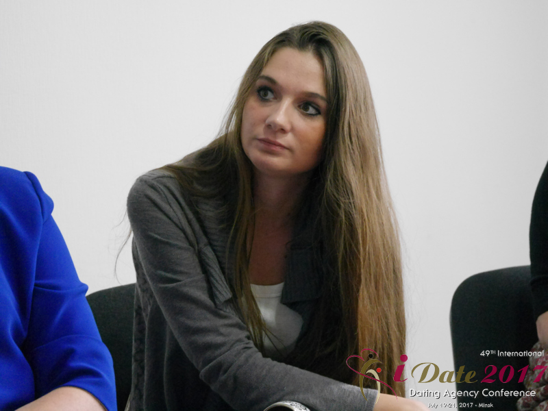 Audience at the 49th Dating Agency Business Conference in Minsk
